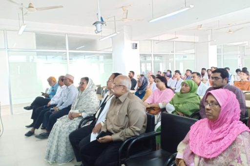 The Seminar on corona virus outbreak at Lecture Hall in RCMC Academic Building (14)