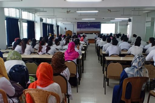 The Seminar on corona virus outbreak at Lecture Hall in RCMC Academic Building (16)