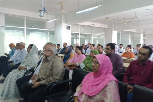 The Seminar on corona virus outbreak at Lecture Hall in RCMC Academic Building (18)