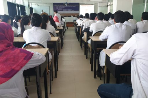 The Seminar on corona virus outbreak at Lecture Hall in RCMC Academic Building (23)